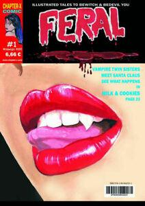 Feral-HORROR-MAGAZIN-Ausgabe-1-RAR-in-UK-MINT