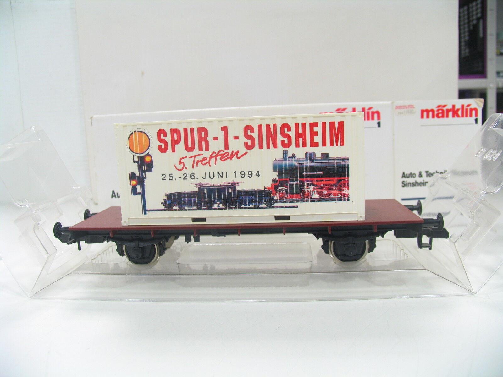 Märklin 80014 Sinsheim Museum Wagon 1994 bw62