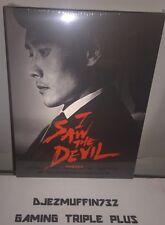 I SAW THE DEVIL BLU-RAY #586 OF 1200 (STEELBOOK & FULL SLIP) OOP (REGION FREE)