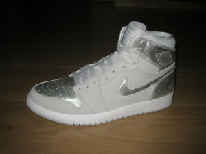 new style 66ae0 38d10 Image is loading Nike-Air-Jordan-1-Retro-Neutral-Grey-Metallic-