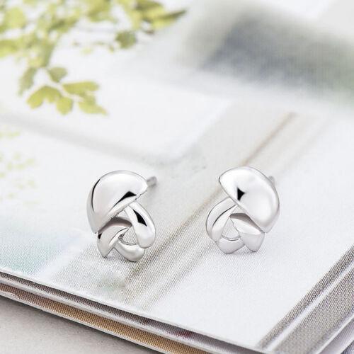 Kleine Ohrstecker Pilze echt Sterling Silber 925 Damen Mädchen Kinder Ohrringe