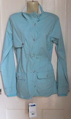 Capace Women's Brooks Silver Bullet Jacket Ii Corsa Bnwt Taglia M-mostra Il Titolo Originale Un Arricchimento E Nutriente Per Il Fegato E Il Rene