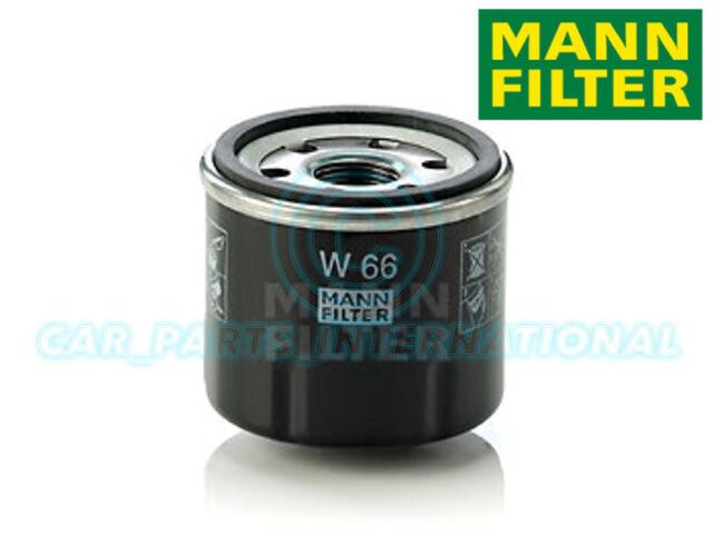 Mann Hummel Repuesto de Calidad OE Filtro de Aceite Del Motor W 66