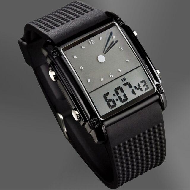 Luxury New Sport LED Digital Date Men Women Waterproof Silicone Watch Wristwatch