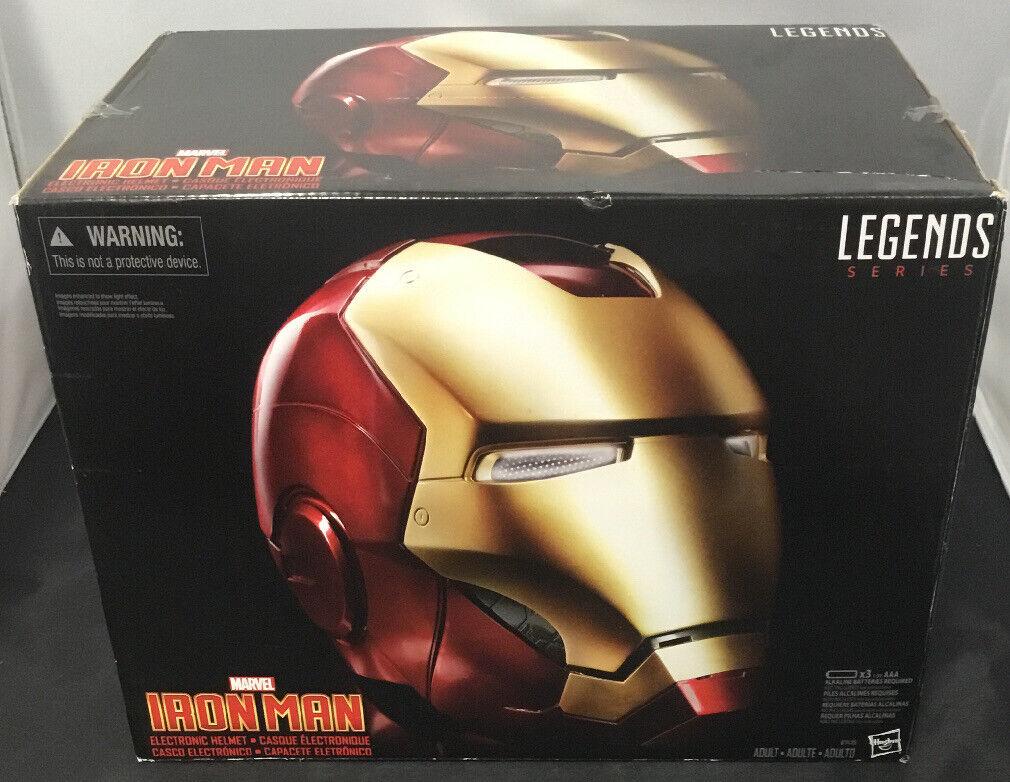 HASBRO MARVEL Leyendas Iron Man casco Electrónico Réplica