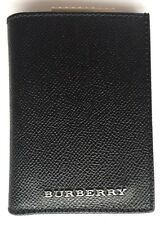BURBERRY SHOES & ACCESSORIES Grained-Leather Cardholder