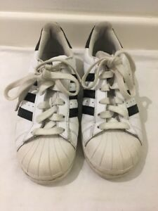 6b4586d6f04a Adidas Shell Toes Superstar Trainers Size UK 4 / FR 36.2/3 | eBay