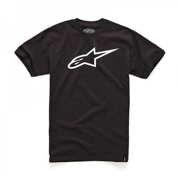 Alpinestars  Mx Ageless T-Shirt Black Motocross FMX Classic Mens Tee Shirt