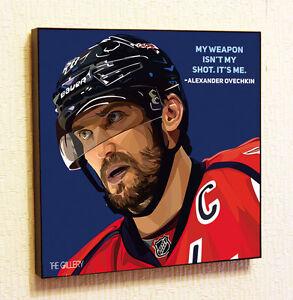 Alexander-Ovechkin-NHL-Painting-Decor-Print-Wall-Art-Poster-Pop-Canvas