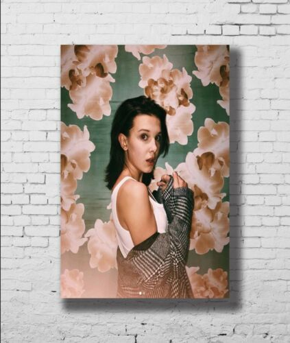 21 24x36in P-565 Art Millie Bobby Brown Music LW-Canvas Poster