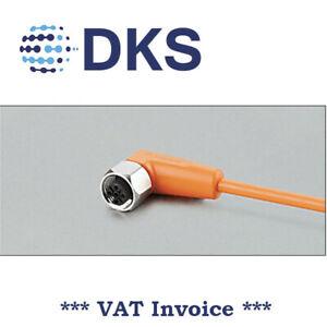 IFM  EVT004 M12 Socket Angled 5 Pin 5m PVC Sensor Cable 000298