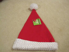 a0b87b2c2df0f item 7 Red Sparkle Santa hat new with tags Christmas holiday super soft  with sequins -Red Sparkle Santa hat new with tags Christmas holiday super  soft with ...