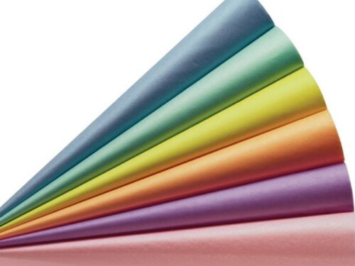 """20 x 30/"""" 100 Sheets of Acid Free 50cm x 75cm Large Tissue Wrapping Paper 18gsm"""