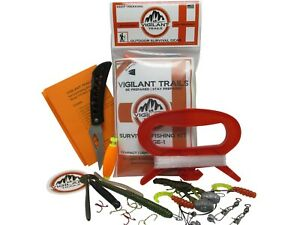Vigilant Trails® Pre-Packed Survival Fishing Kit | Stage-1