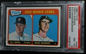 1965-Topps-Tigers-Rookies-493-PSA-8-NM-MT