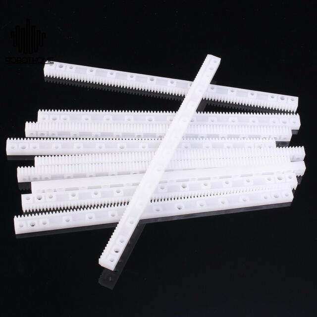 20pcs Plastic Gear Rack 0 5m Modulus 125x7x4mm Gear Robot Parts for DIY  Model