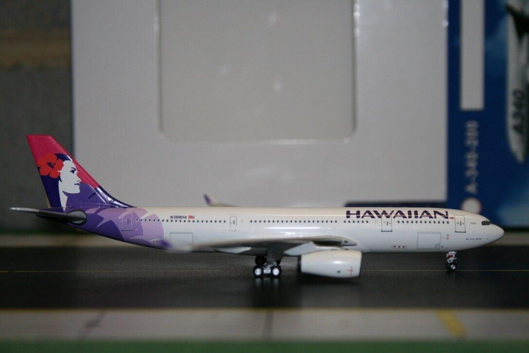 a la venta Aeroclassics 1 400 Hawaiian Airlines Airbus Airbus Airbus A330-200 N388HA (ACN388HA) DIE-CAST  moda