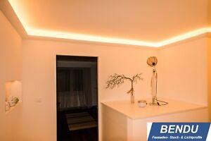 Indirekte Led Beleuchtung Decke Stuckleisten Lichtvouten Profil