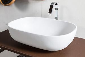 Vasca Da Appoggio : Lavabo da appoggio resina bianco a forma di vasca arredo bagno.c