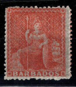 P133349-BRITISH-BARBADOS-SG-28-MINT-MH-CERTIFICATE-CV-435