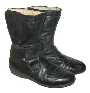 FERTIGE!!! Herren- Motorradstiefel / Stiefel / Biker- Boots in schwarz Gr. 41