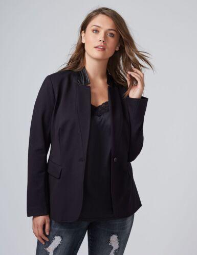 Jacket Size Nero Ponte The Blazer 18 Plus Bryant New Sz Lane 80 wqXzz7I