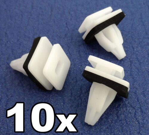 10x Honda Stepwgn Moldura De Plástico clips Para Carenados Laterales Sill Fundicion Rocker cubierta