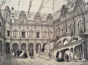 Large-Print-de-Paris-Hotel-City-in-1866-Superb