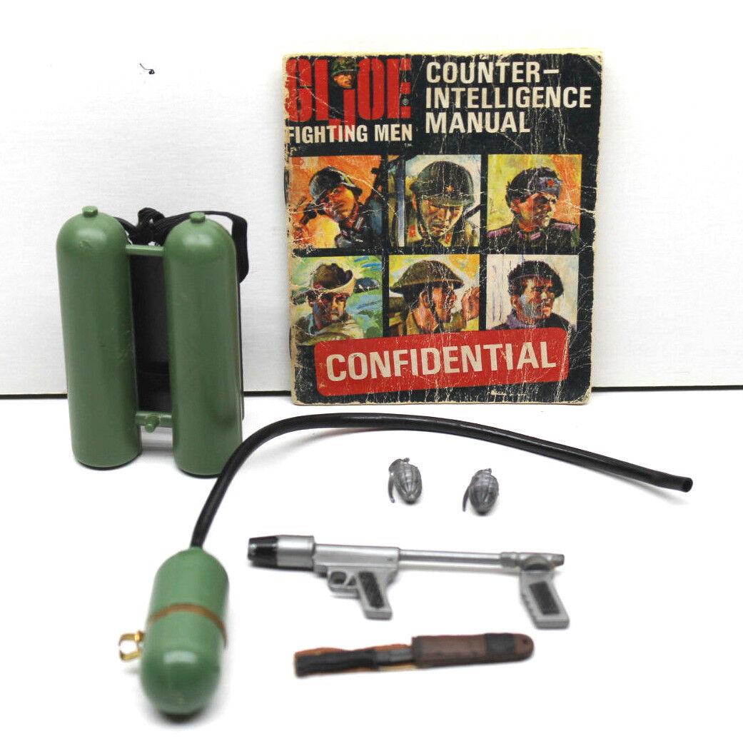 Vintage GI Joe Jungle Fighter Flamethrower Jungle Fighter Australian Marine