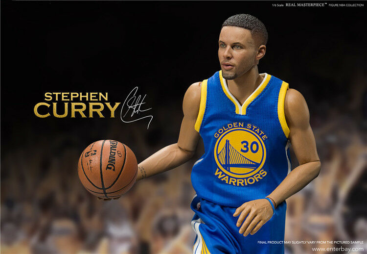 1/6 Scale Real Real Scale Masterpiece NBA Collection - Stephen Curry Action Figure In Box 60e250