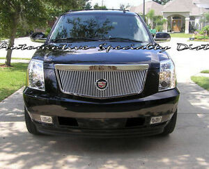 E&G 1PC VERTICAL CLIC GRILLE GRILL FITS 2007-2014 CADILLAC ...