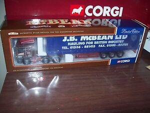 Corgi Modern Heavy Haulage Cc11906 Roulette Erf Ec Jb Mcbean à l'échelle 1/50