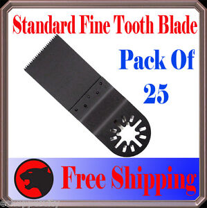 Details about 25 Fine Flush Cut Oscillating MultiTool Saw Blade Fein  Multimaster Bosch Dremel