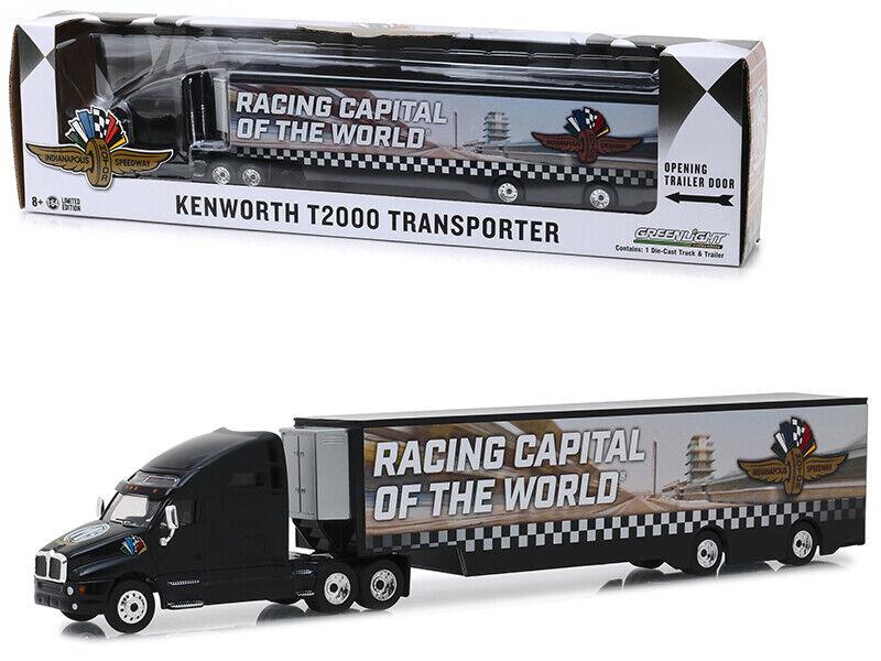 KENWORTH T2000 Transporteur  INDIANAPOLIS motor speedway roue, ailes & Drapeau   HO