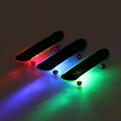2pcs LED Mini Skateboard Finger Board Tech Deck Kids Toys Children Gift Baby Toy