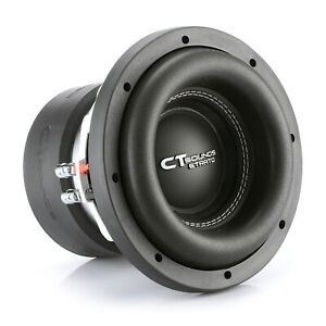 "CT Sounds Car 8 Inch Subwoofer Strato 8"" Dual 4 Ohm D4 600w Watt RMS Audio Sub"