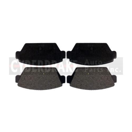 REAR Semi-Metallic Brake Pads Fits 85-87 Mitsubishi Galant