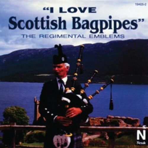 Various Artists, Reg - I Love Scottish Bagpipes / Various [New CD]