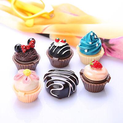 Delicious Cupcake Lip Gloss Lipstick Lip Balm Cosmetic Makeup Holiday Gifts
