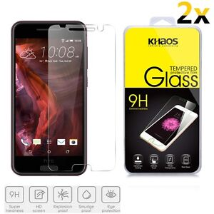 2x-KHAOS-For-HTC-One-A9-Premium-Tempered-Glass-Screen-Protector