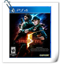 PS4 Resident Evil 5 RE5 SONY PLAYSTATION Capcom Action Games