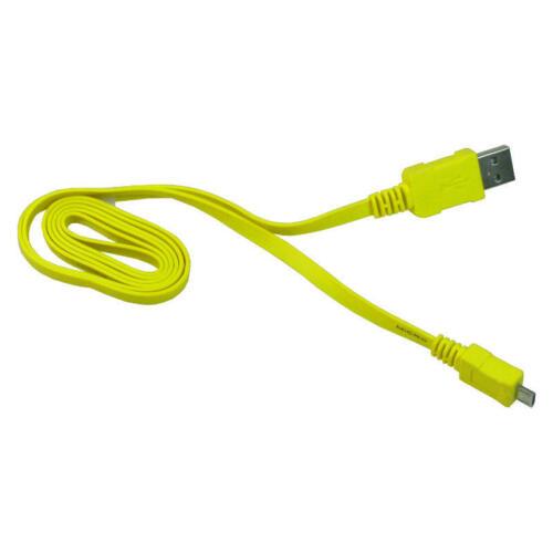 USB Kabel Ladekabel Datenkabel Flachkabel für HTC One mini 2