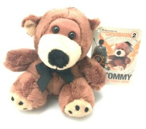 Details about TOM CLANCY'S THE DIVISION 2 PROMO TOMMY THE TEDDY BEAR PLUSH  BRAND NEW WITH CODE
