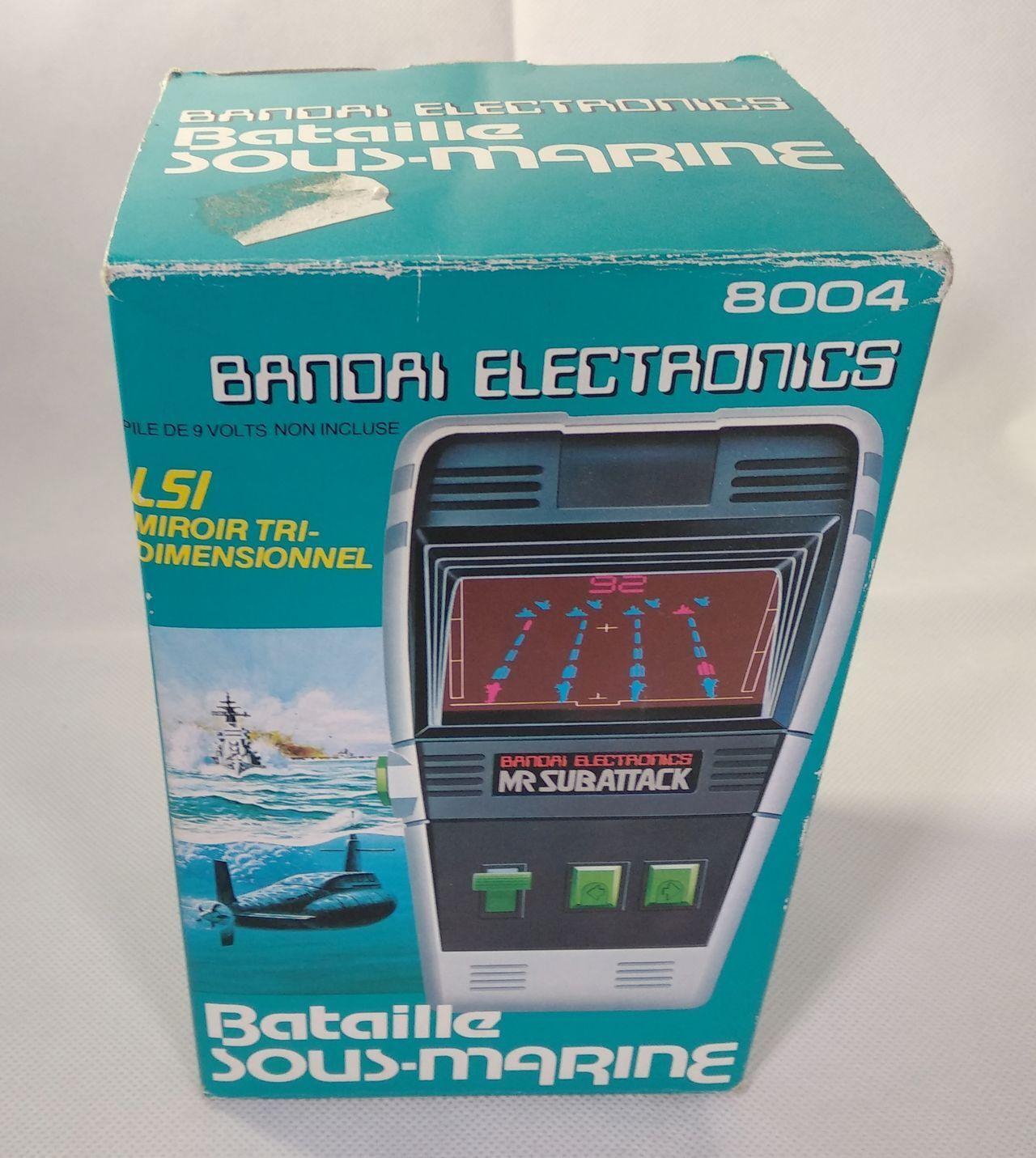 BANDAI TORPEDO SHOOT - Electronic Game LSI   Tabletop 1980