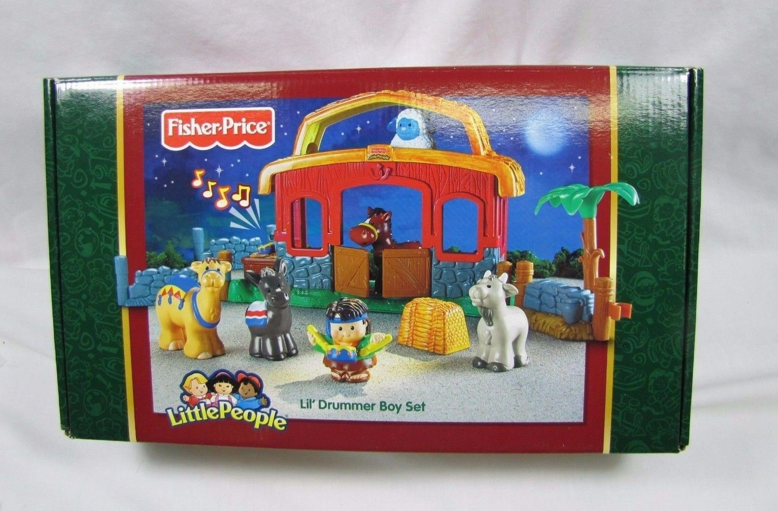 New  Fisher Price Little People CHRISTMAS NATIVITY LIL' DRUMMER BOY 2006 Music