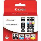 Canon 225 226 (4530B008) ChromaLife100+ Ink Cartridge - Black Cyan Magenta Yelllow