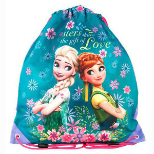 Frozen-Drawstring-Shoe-Bag-Dance-Swim-Bikini-Gym-Sports-Girls