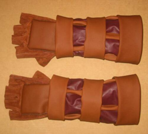 Legend of Zelda cosplay Ocarina of Time Gauntlets for Link Costume
