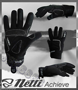CYCLING-BIKE-WINTER-GLOVES-NETTI-PERFORMANCE-NEW-WITH-TAGS