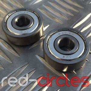 12mm 6301 PIT DIRT BIKE WHEEL ROLLER BEARING SET 6301rs 6301z 50cc 110cc PITBIKE